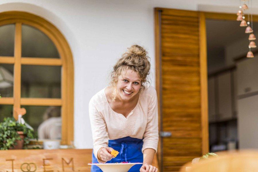 Bäuerin und Köchin aus Leidenschaft