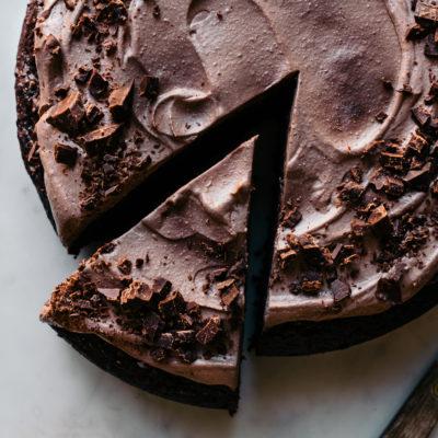 gesunder Rote Beete Schokoladen Kuchen