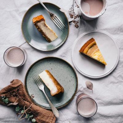 cheesecake mit kastanien