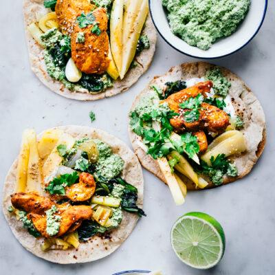 Tacos mit Chicken